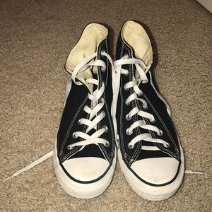 Great Condition High-Top Black Converse